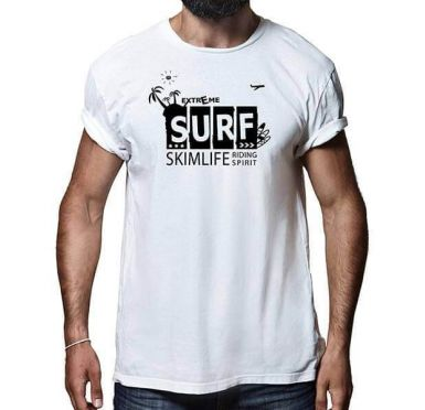 T shirt Surf Case Homme