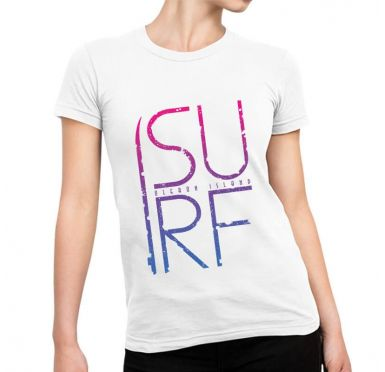 T shirt Simple Surf Femme