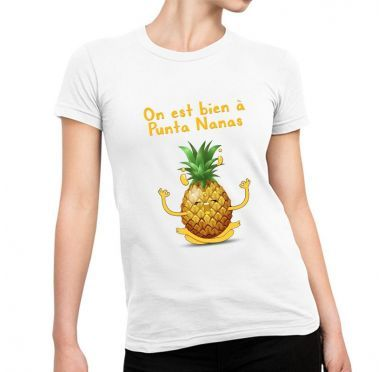 t shirt imprimé Punta Nanas Collection Tropical Vibes