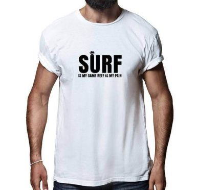 T shirt Surf Break Homme