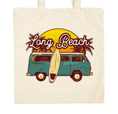 Zoom sac de plage Long beach