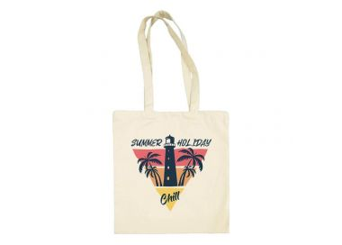 Tote Bag summer holiday chill