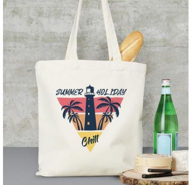 Exemple Tote Bag summer holiday chill