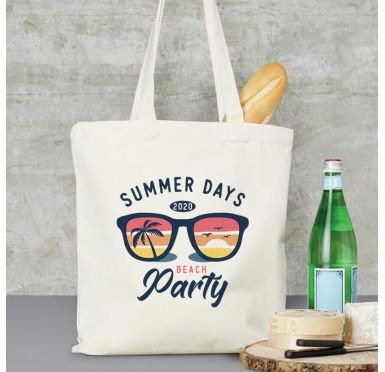 exemple Sac de plage, marché, ville Beach party