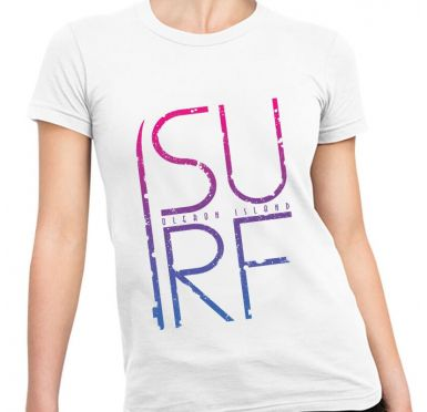 Zoom t-shirt simple surf Femme