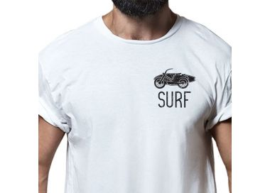 Zoom T shirt Surfing Old Bike Homme