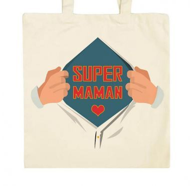 Zoom Tote bag Super Maman