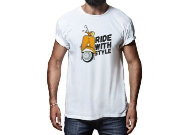 T-shirt Ride with style