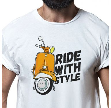 T shirt Ride with style