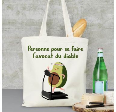 Exemple sac de plage Avocat