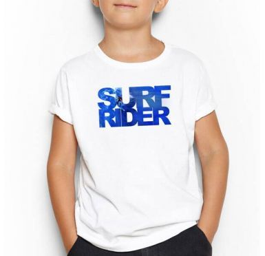 T shirt Surf Rider Enfant