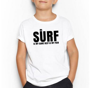 T shirt Surf Break Enfant