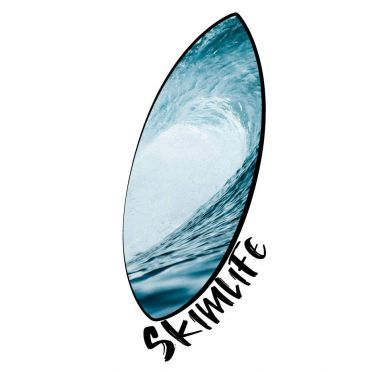 T shirt Skimboard Wave Enfant