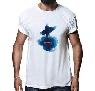 T shirt Surf Ink Homme